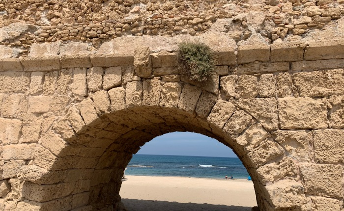Caesarea Maritime, Megiddo, and Carmel: Day 7 in Pictures